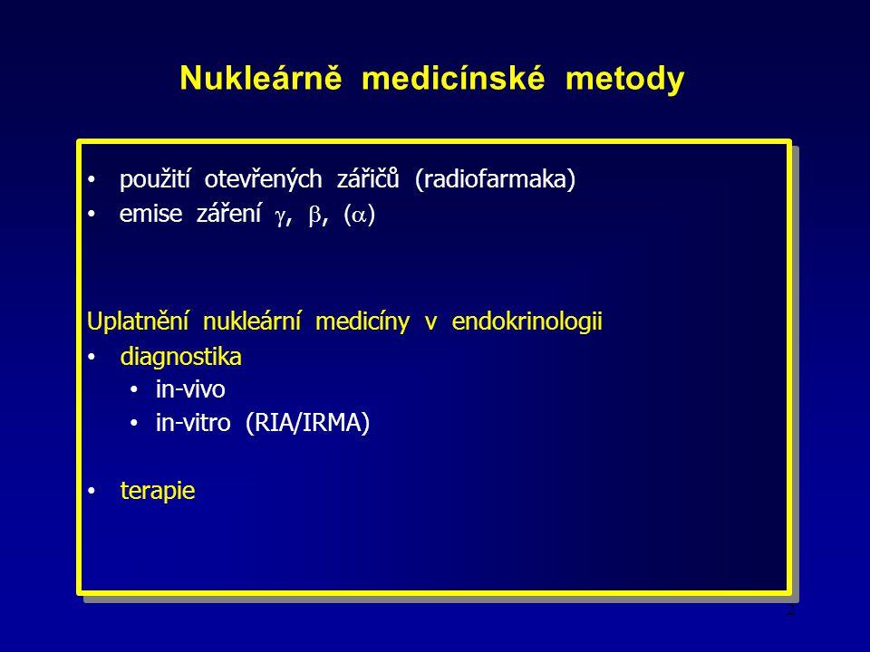 Nukleárně medicínské metody