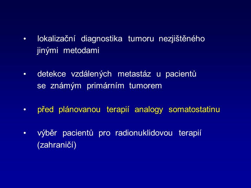 lokalizační diagnostika tumoru nezjištěného