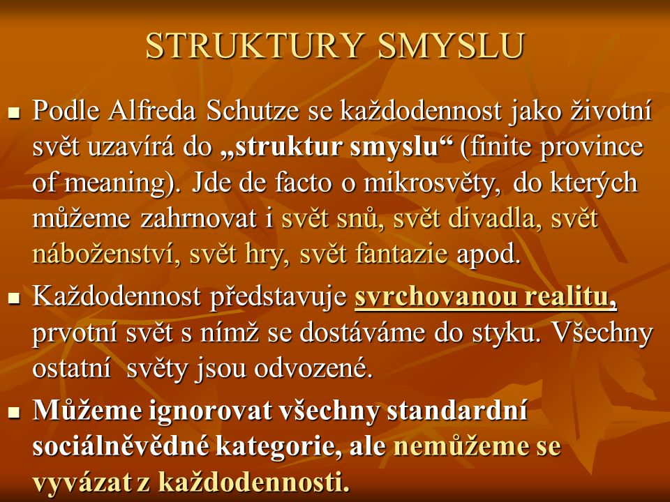 STRUKTURY SMYSLU