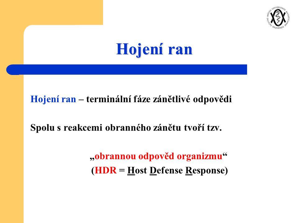 """obrannou odpověd organizmu (HDR = Host Defense Response)"