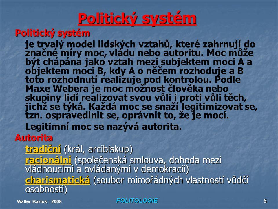 Politický systém Politický systém