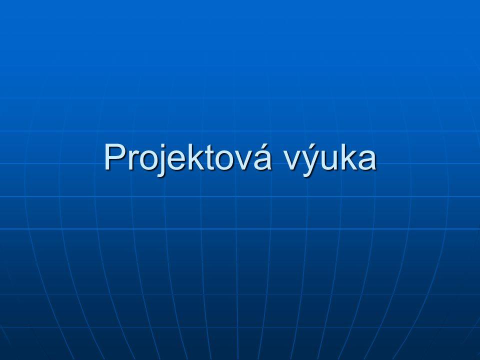 Projektová výuka