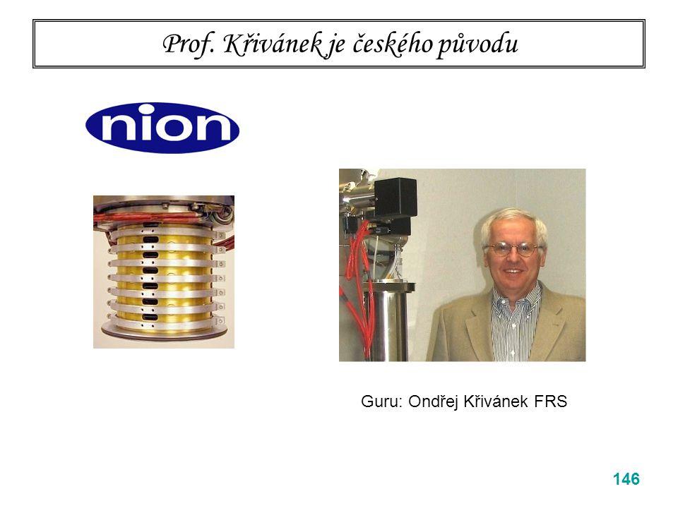 Prof. Křivánek je českého původu