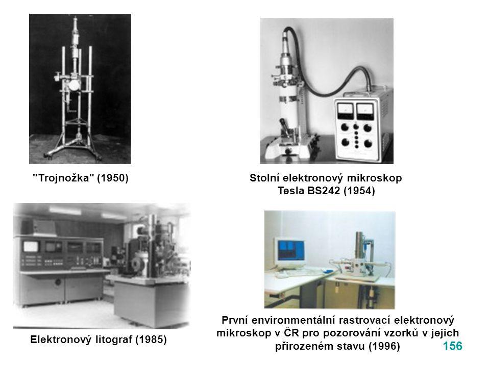 Stolní elektronový mikroskop Tesla BS242 (1954)