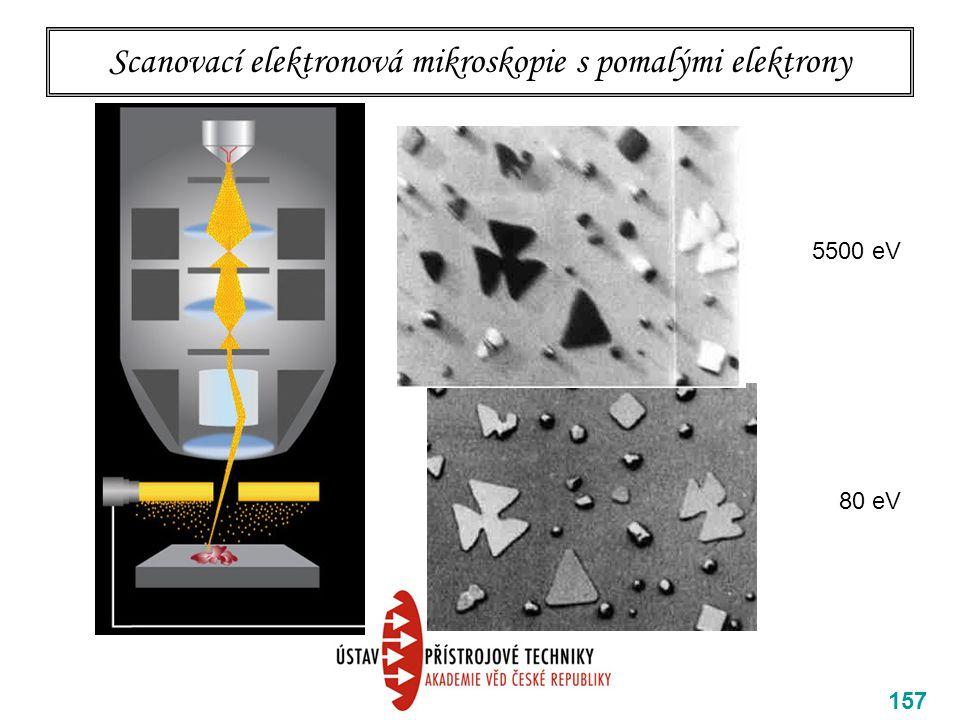 Scanovací elektronová mikroskopie s pomalými elektrony