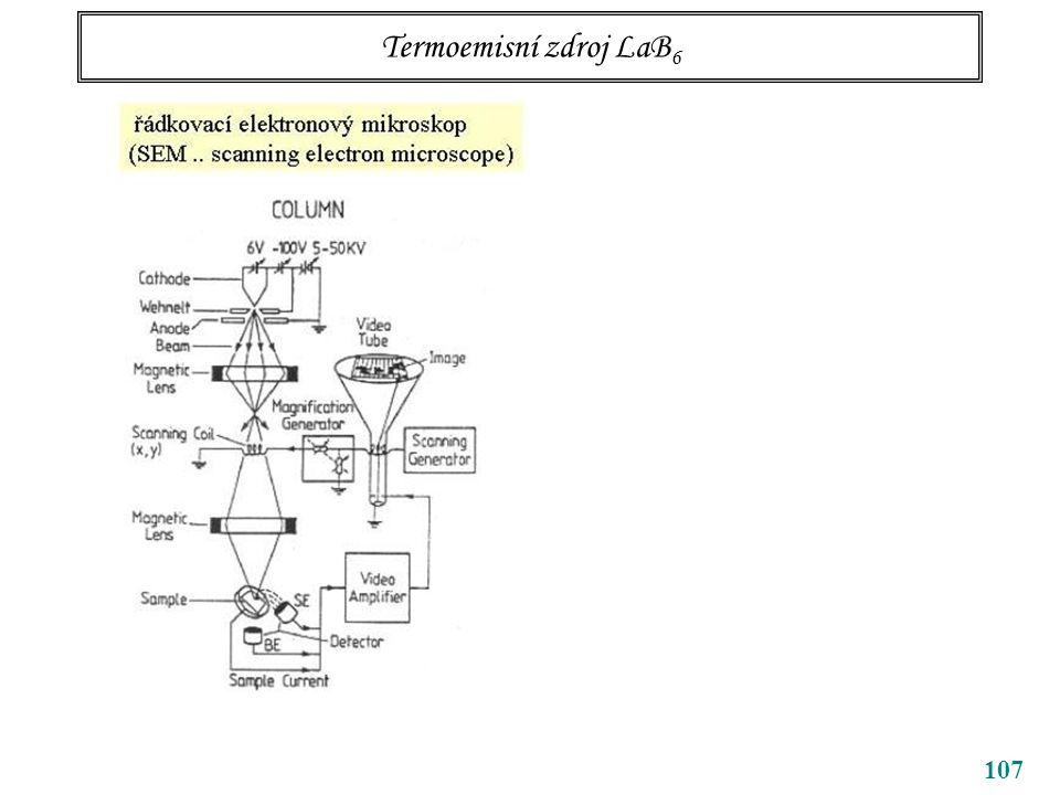 Termoemisní zdroj LaB6