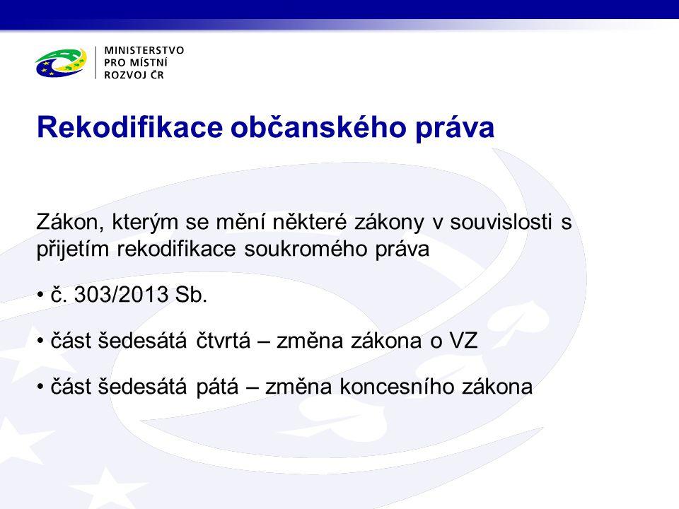 Rekodifikace občanského práva