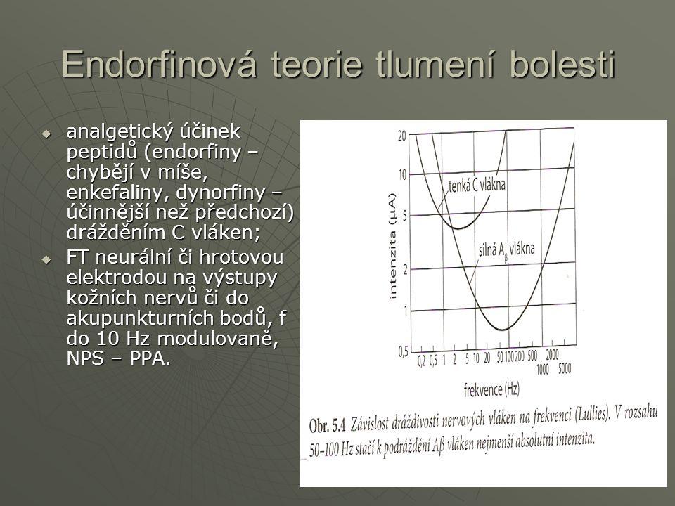 Endorfinová teorie tlumení bolesti