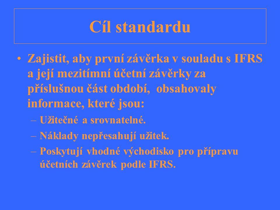 Cíl standardu