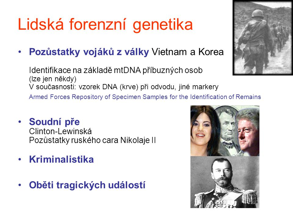 Lidská forenzní genetika