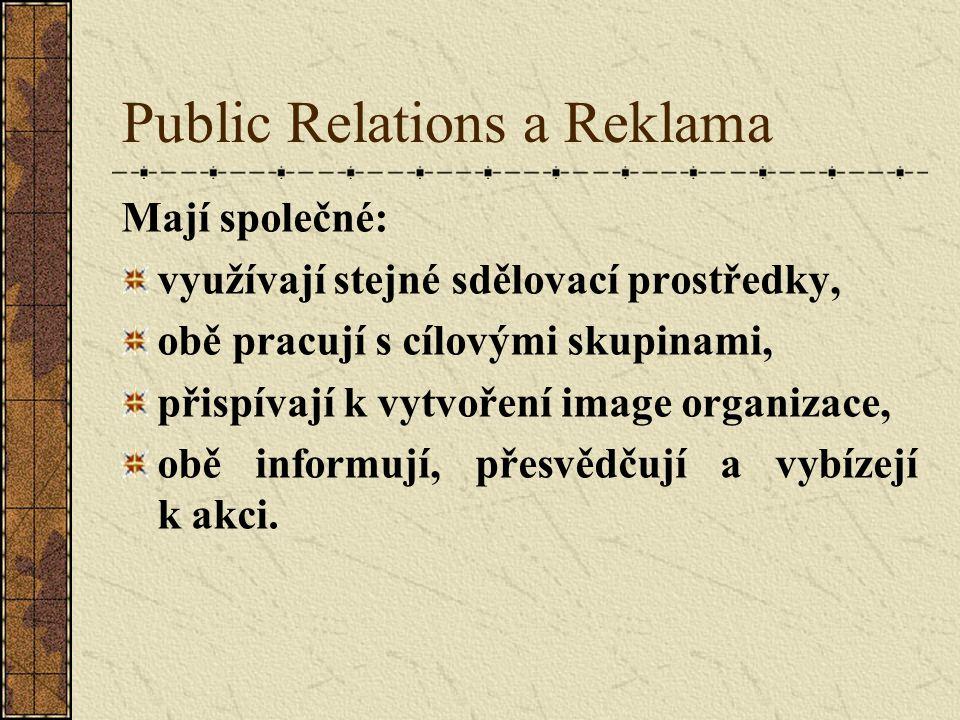 Public Relations a Reklama