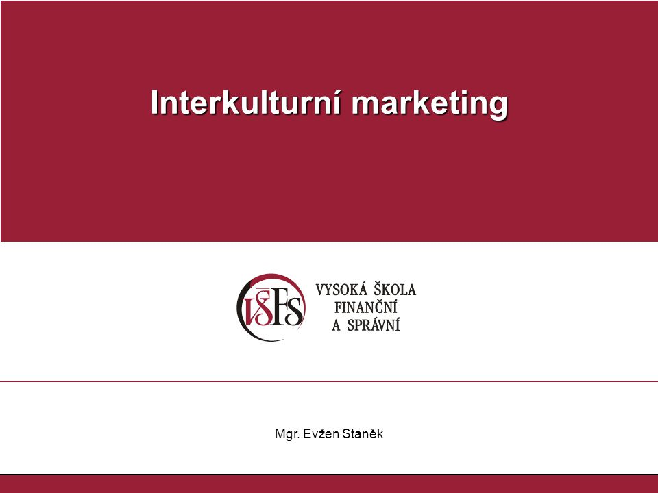 Interkulturní marketing