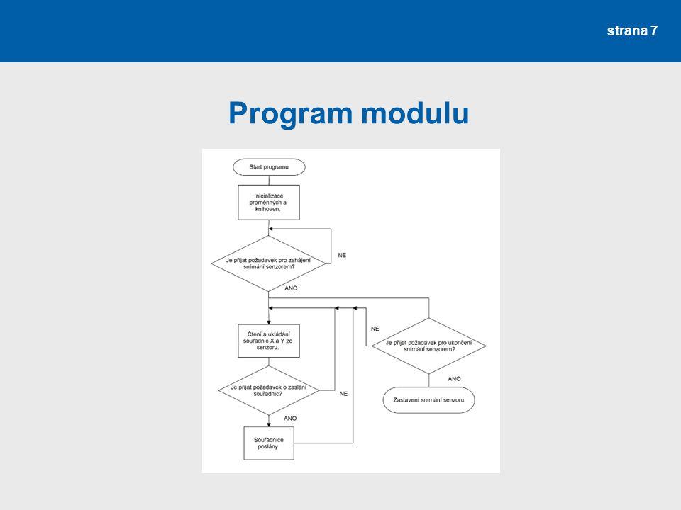 Program modulu