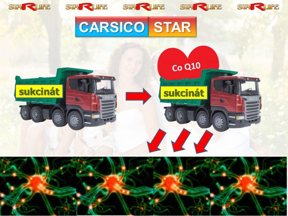 CARSICO STAR Co Q10 sukcinát sukcinát