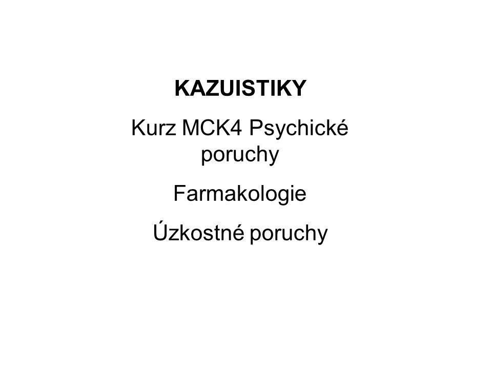Kurz MCK4 Psychické poruchy