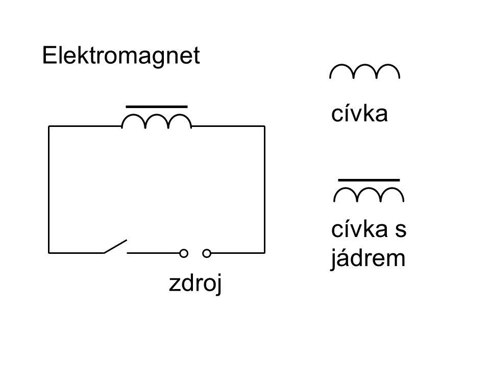 Elektromagnet cívka cívka s jádrem zdroj
