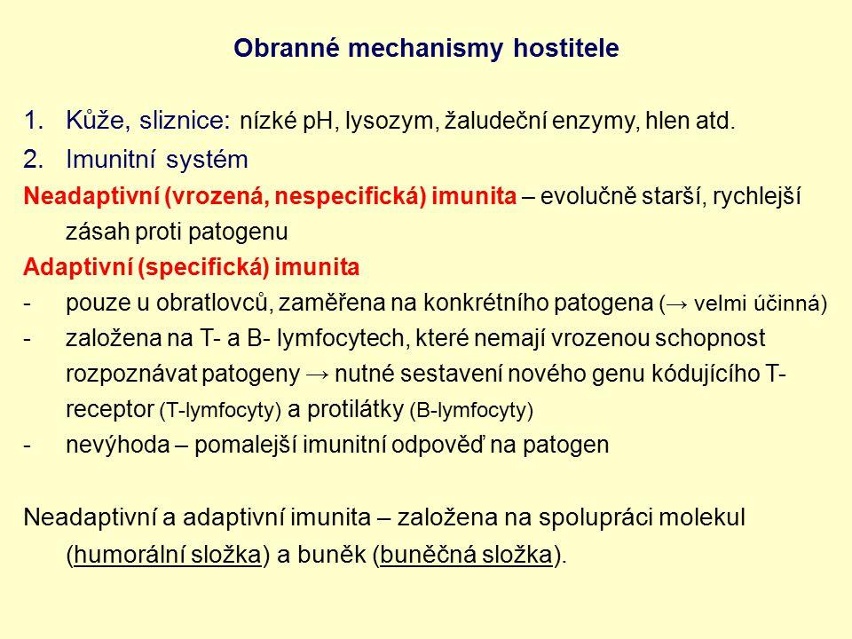Obranné mechanismy hostitele
