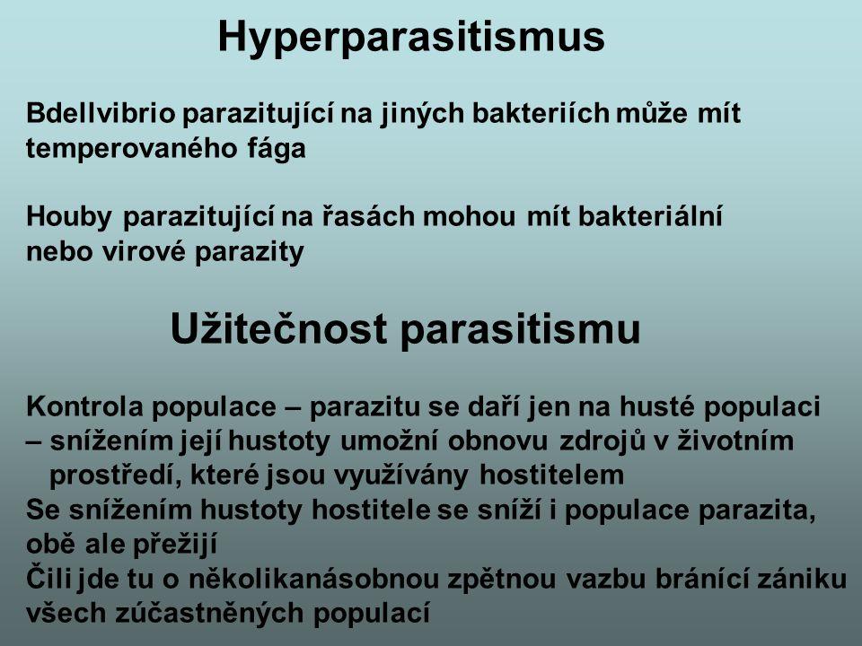 Užitečnost parasitismu