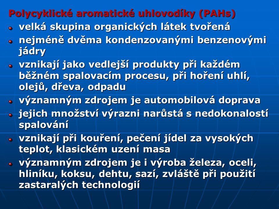Polycyklické aromatické uhlovodíky (PAHs)