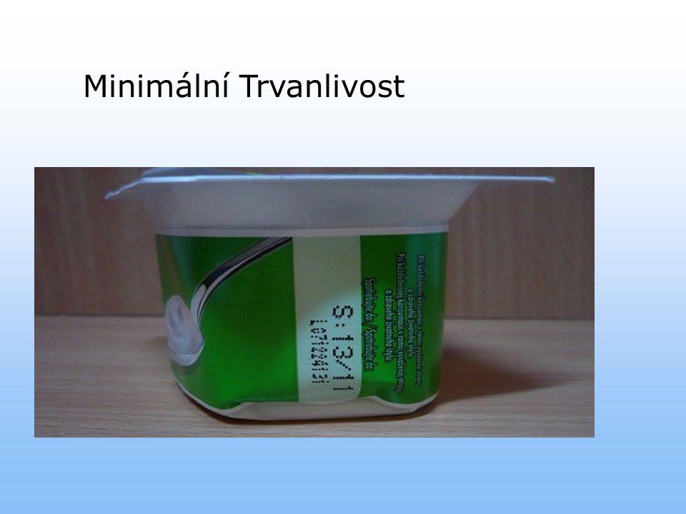 Minimální Trvanlivost