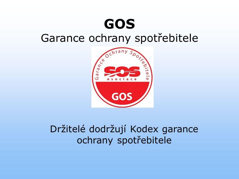 GOS Garance ochrany spotřebitele