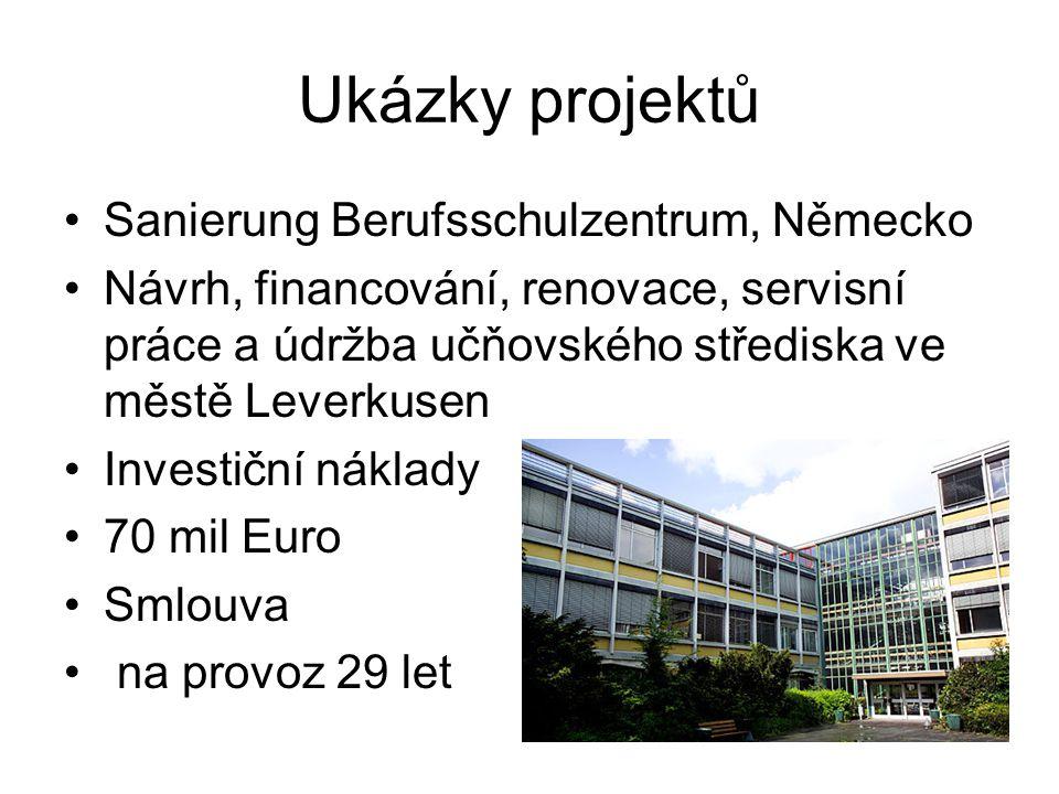 Ukázky projektů Sanierung Berufsschulzentrum, Německo