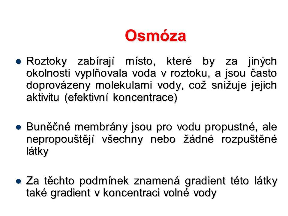 Osmóza
