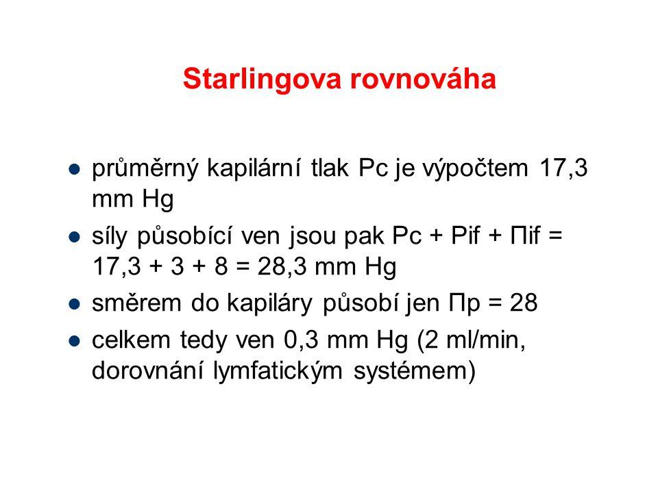 Starlingova rovnováha