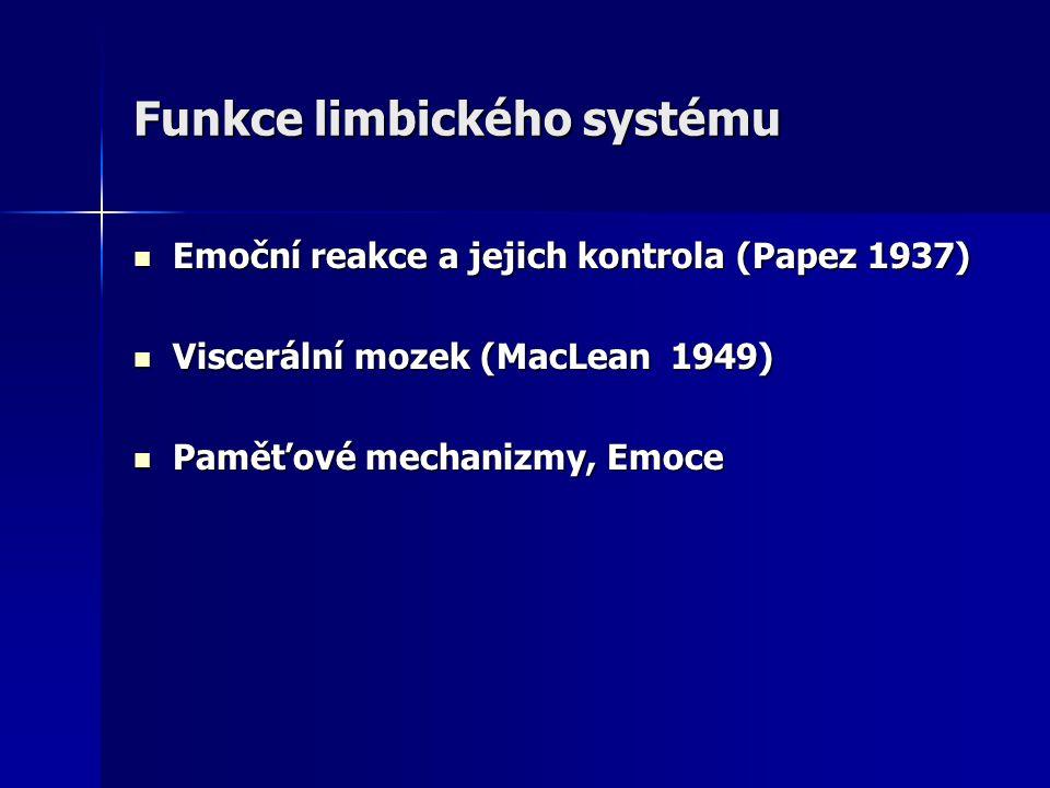 Funkce limbického systému