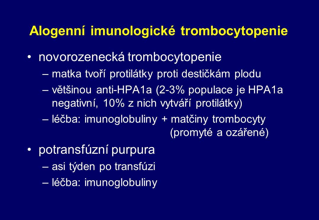Alogenní imunologické trombocytopenie