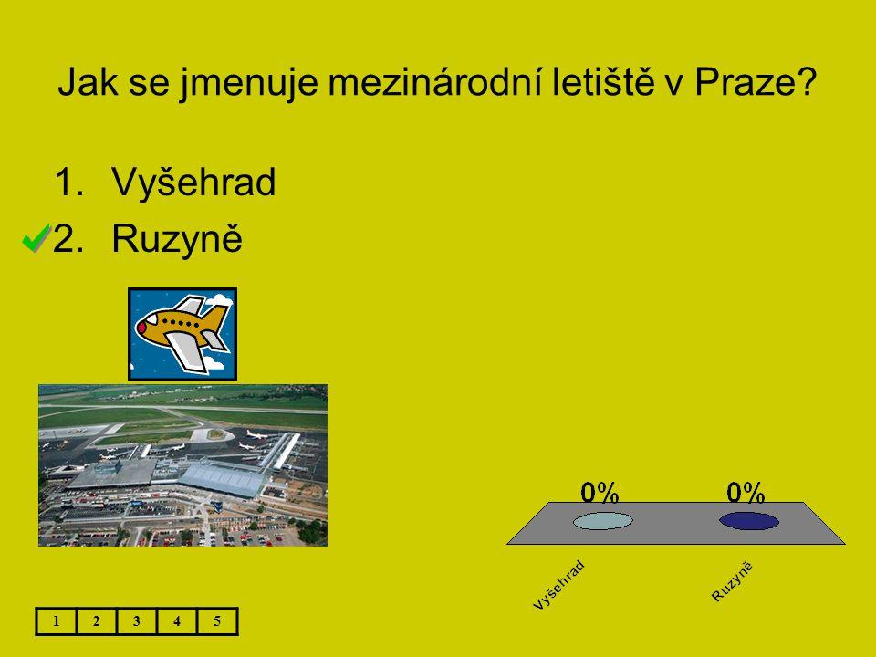 Jak se jmenuje mezinárodní letiště v Praze