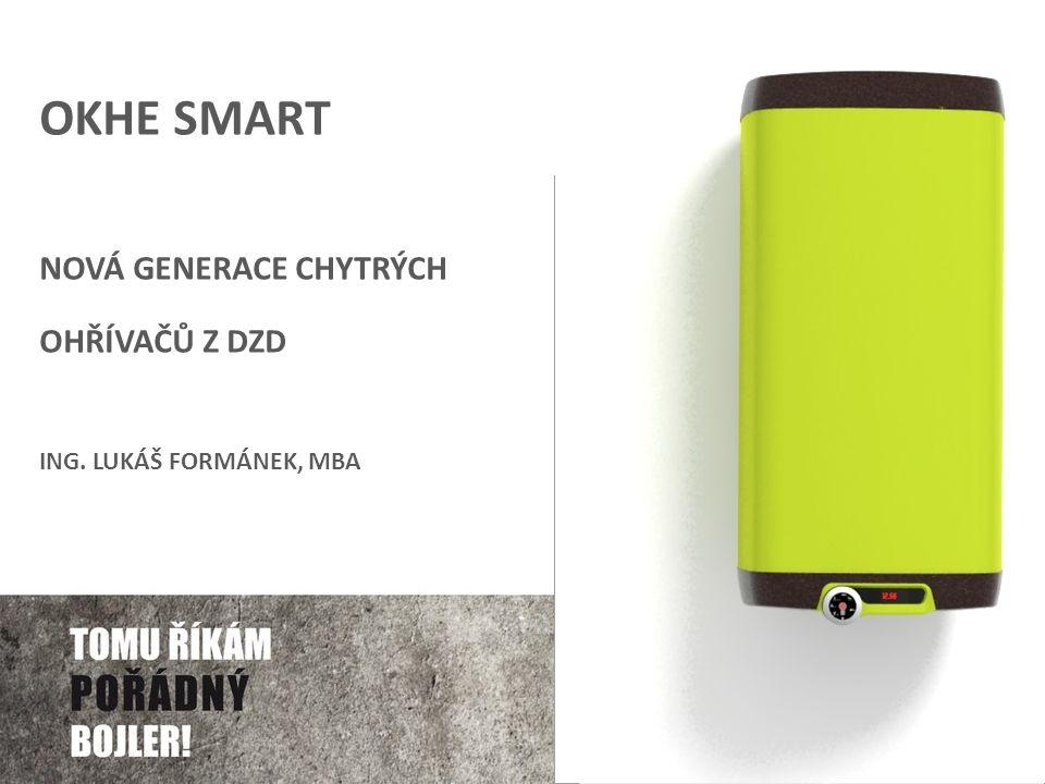 OKHE smart Nová generace chytrých ohřívačů z DZD