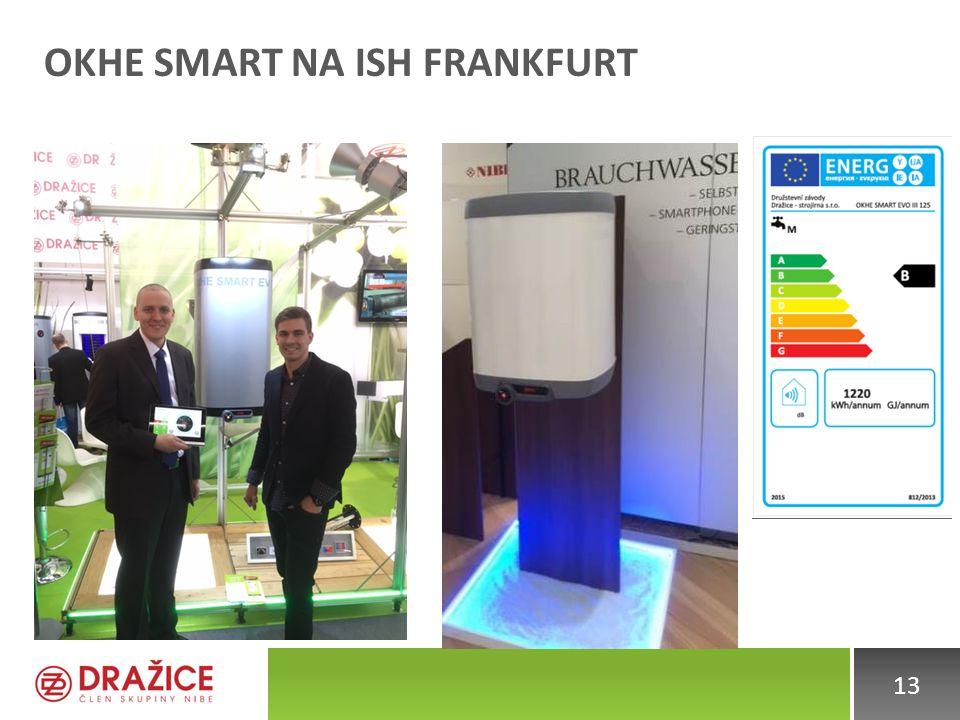 OKHE Smart na ISH Frankfurt