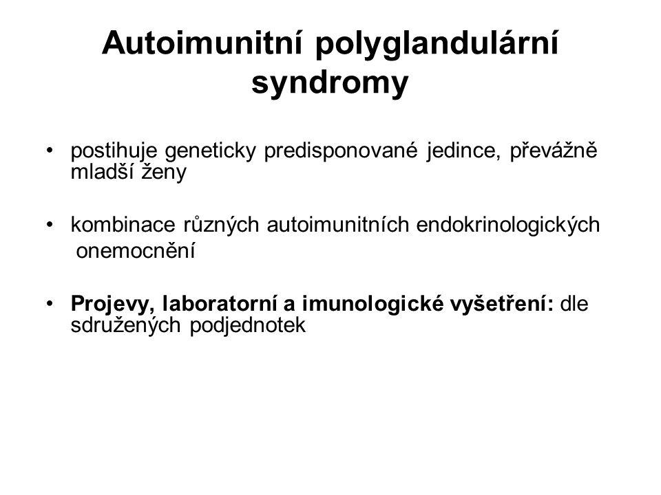 Autoimunitní polyglandulární syndromy
