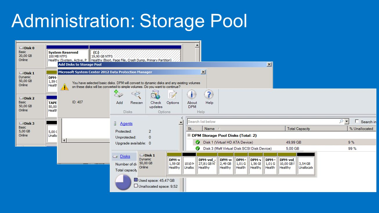 Administration: Storage Pool