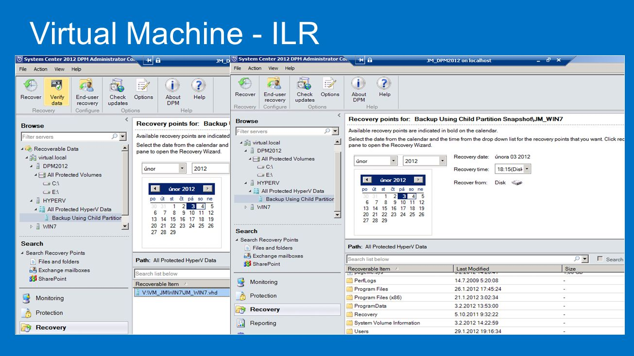 Virtual Machine - ILR