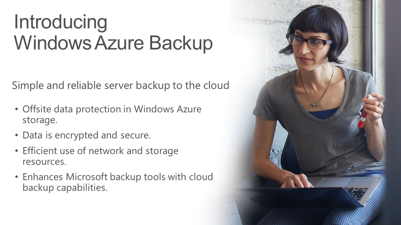 Introducing Windows Azure Backup