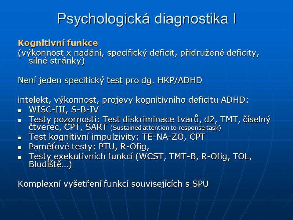 Psychologická diagnostika I