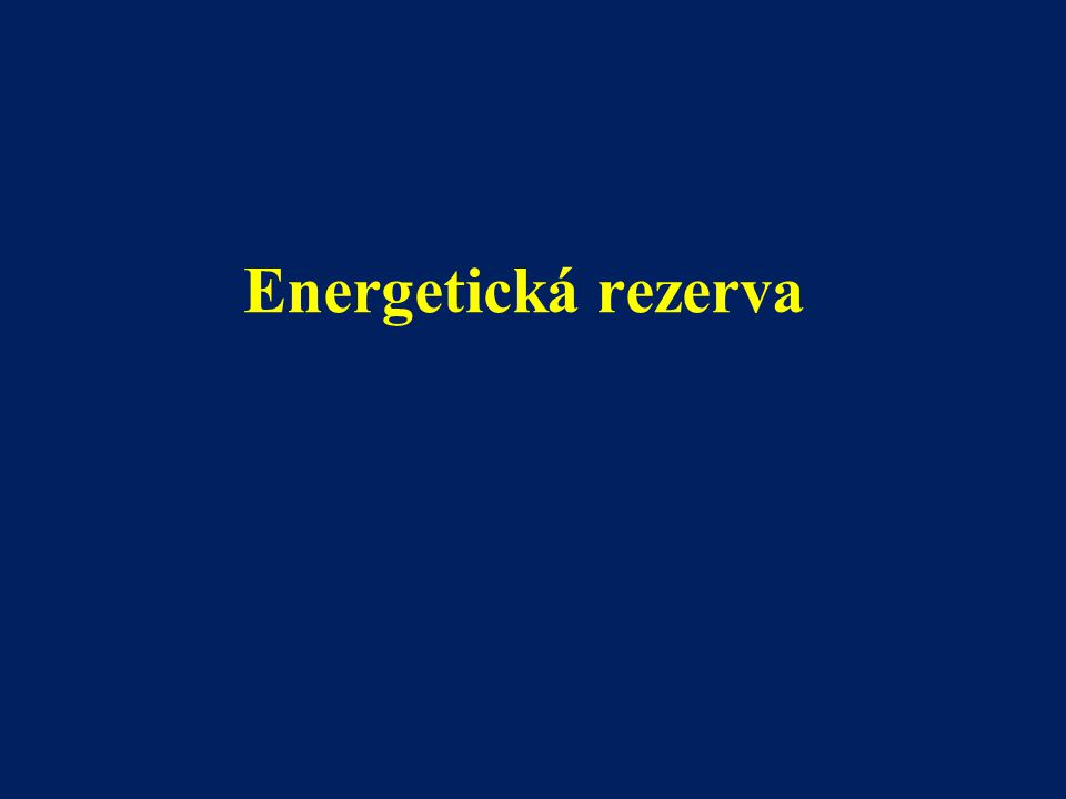 Energetická rezerva