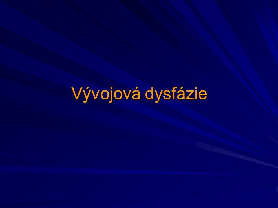 Vývojová dysfázie