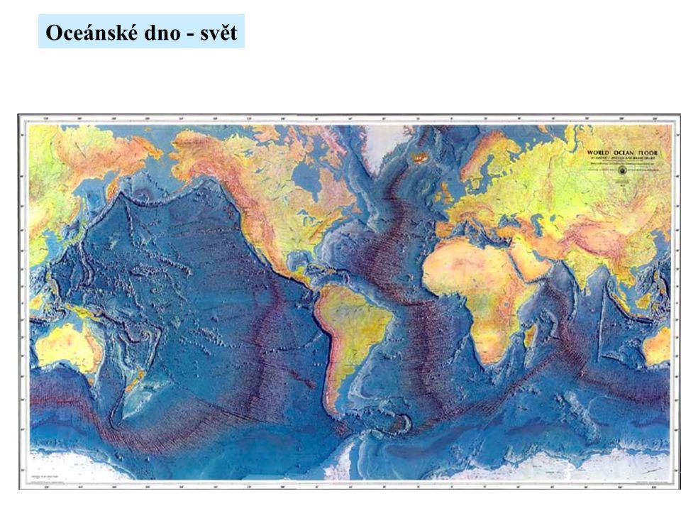 Oceánské dno - svět