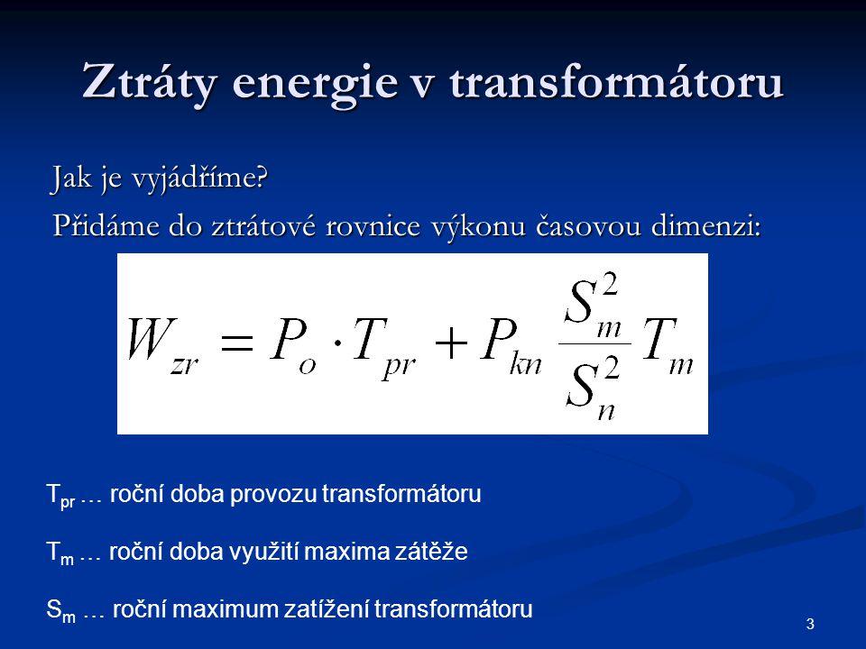 Ztráty energie v transformátoru