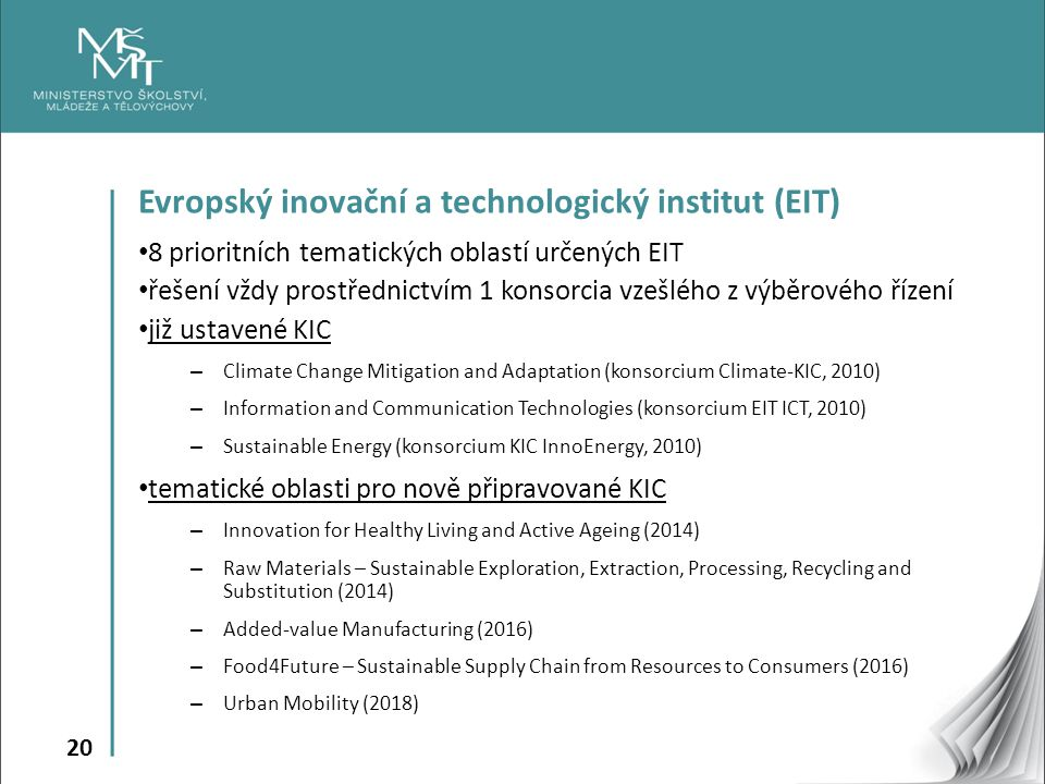 Evropský inovační a technologický institut (EIT)