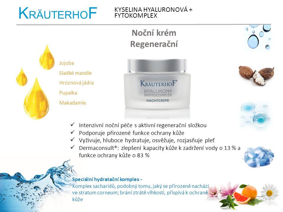 KRÄUTERHOF Noční krém Regenerační KYSELINA HYALURONOVÁ + FYTOKOMPLEX