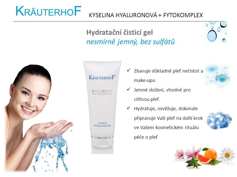 KRÄUTERHOF Hydratační čisticí gel nesmírně jemný, bez sulfátů