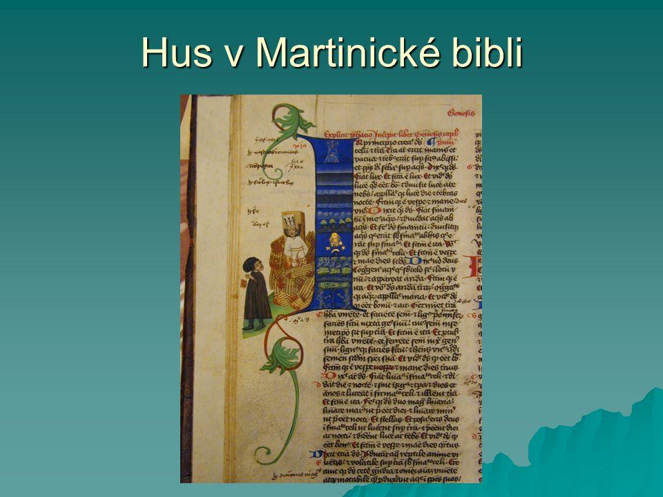 Hus v Martinické bibli