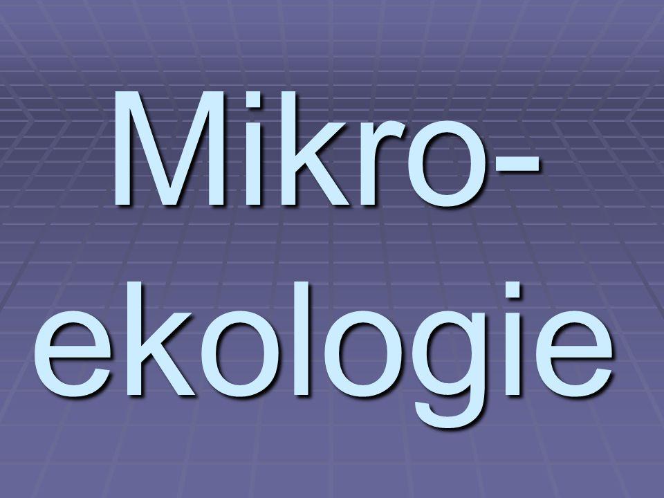 Mikro- ekologie