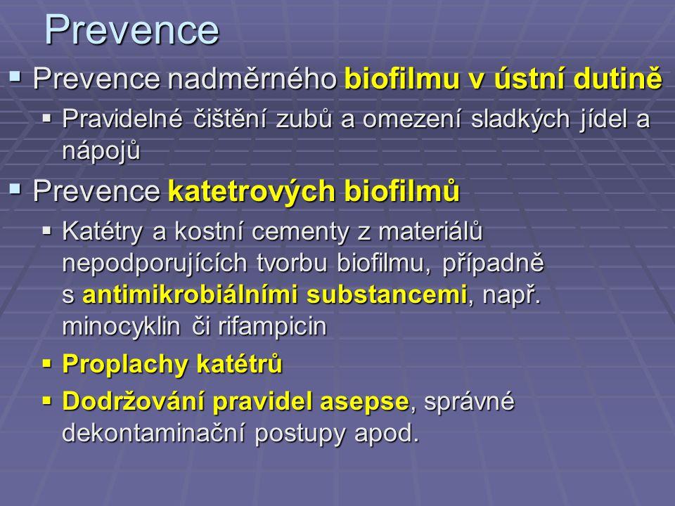Prevence Prevence nadměrného biofilmu v ústní dutině