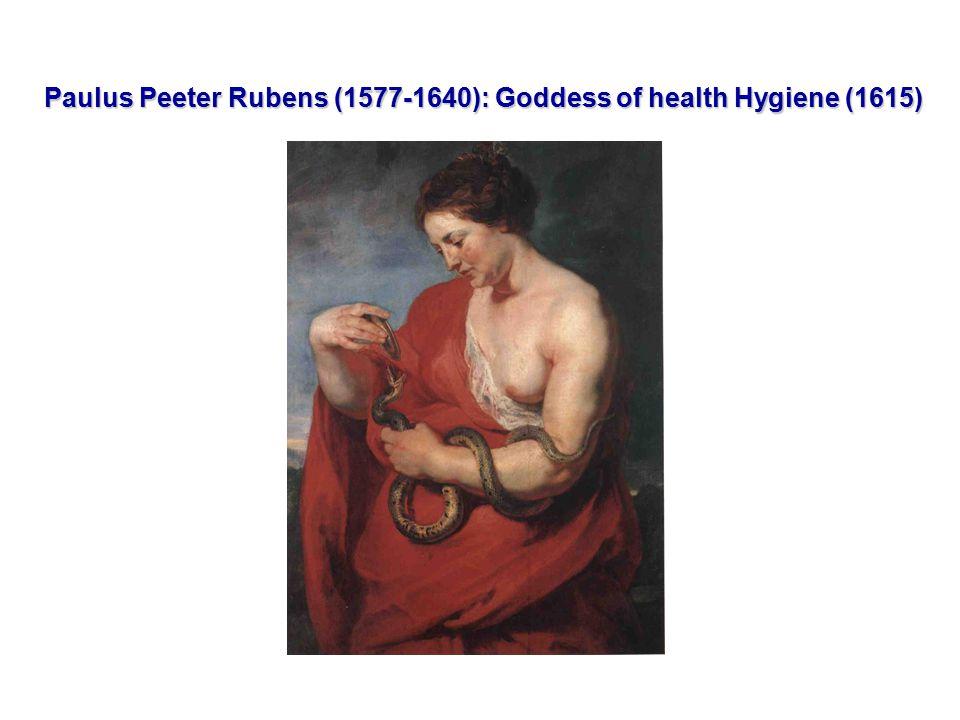 Paulus Peeter Rubens (1577-1640): Goddess of health Hygiene (1615)