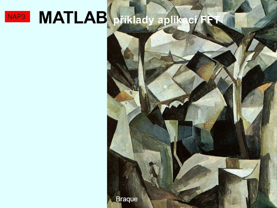 MATLAB příklady aplikací FFT